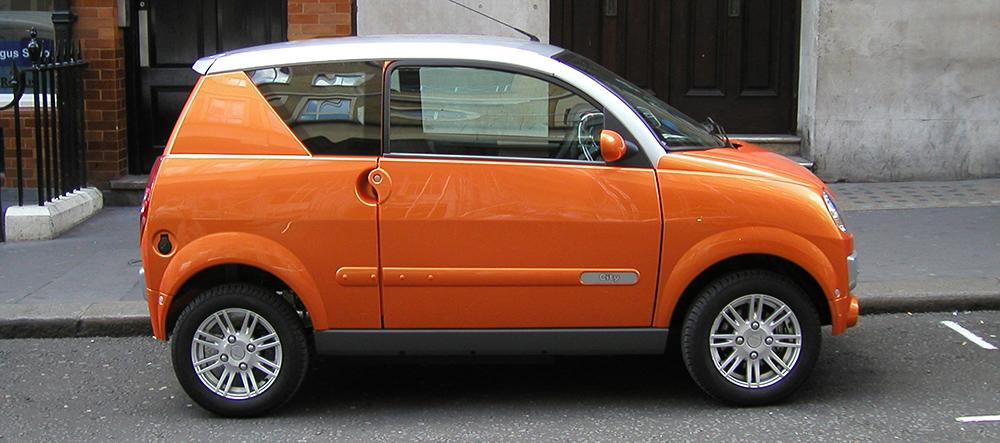 L'un des nombreux modèles de voiturettes