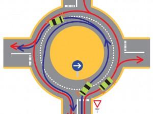 Les questions reviennent fréquemment. Comment bien circuler dans un carrefour giratoire ? Sur quelle voie se positionner ? Quand mettre son clignotant pour emprunter une des sorties ? Vous trouverez ici quelques informations précieuses pour se mettre ou se remettre au niveau.
