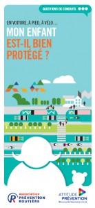 Brochure sur la protection des enfants dans la circulation