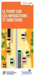 Brochure sur les sanctions des infractions