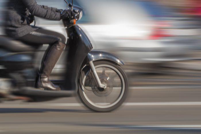 Scooter en ville