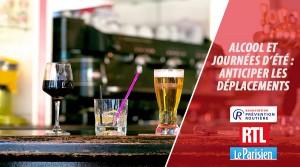 Alcool et journées d'été - anticiper les déplacements