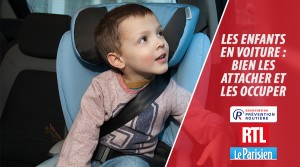 L'enfant en voiture - bien l'attacher et l'occuper