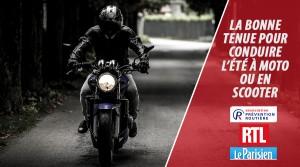 La bonne tenue pour conduire l'été à moto ou en scooter