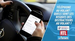 Téléphone au volant - quels sont les risques des distracteurs au volant