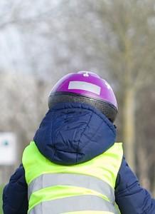 Le casque à vélo pour les enfants