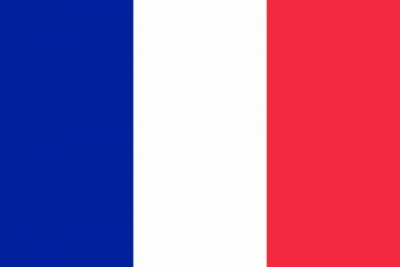 Drapeau symbole de la France