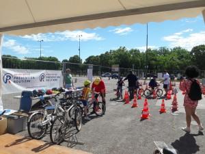 Le circuit d'éducation routière cycliste de l'aPR