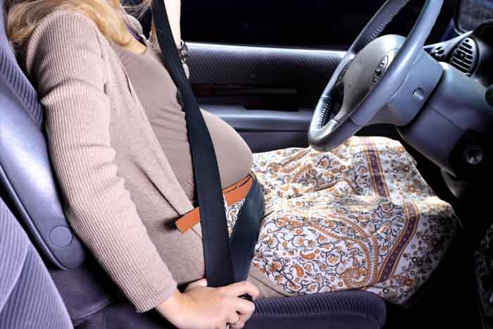 Conductrive enceinte avec ceinture