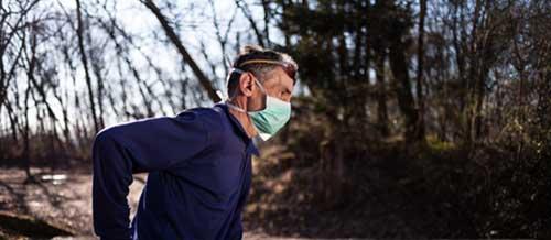 running avec masque