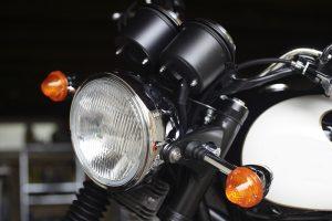 Clignotant sur moto
