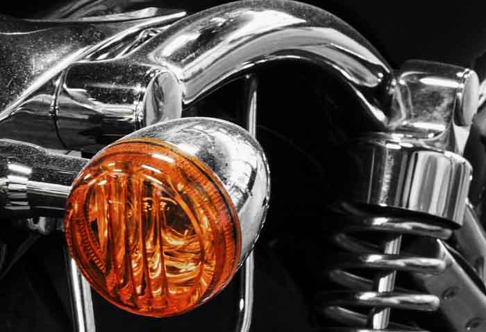 Clignotant moto