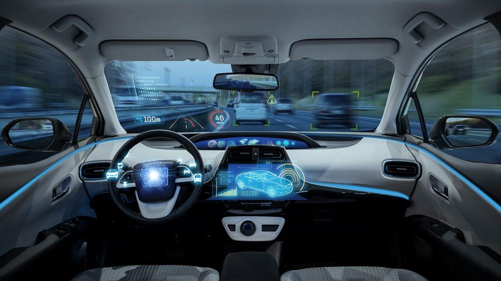 Voiture autonome sans conducteur