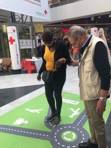 Stand aPR Croix Rouge pour la JMPS