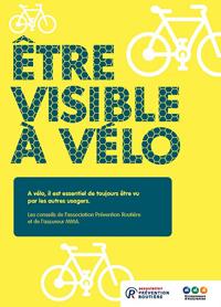 Avec l'assureur MMA, nous organisons l'opération de sensibilisation «Être visible à vélo», les 9 et 10 octobre 2018, dans 10 villes de France.