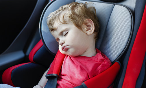 Enfant siège auto