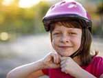 Enfant casqeu vélo