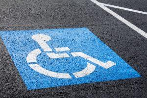 placze de stationnement handicap