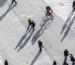 Piétons et cyclistes